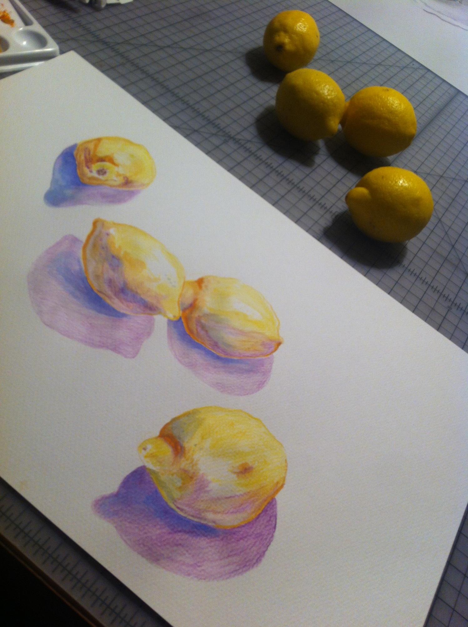 Lemons for Limoncello